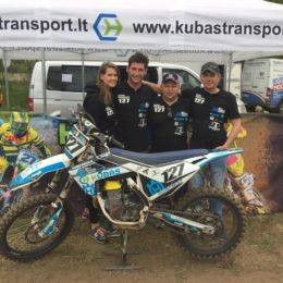 Motocross rider from Lithuania